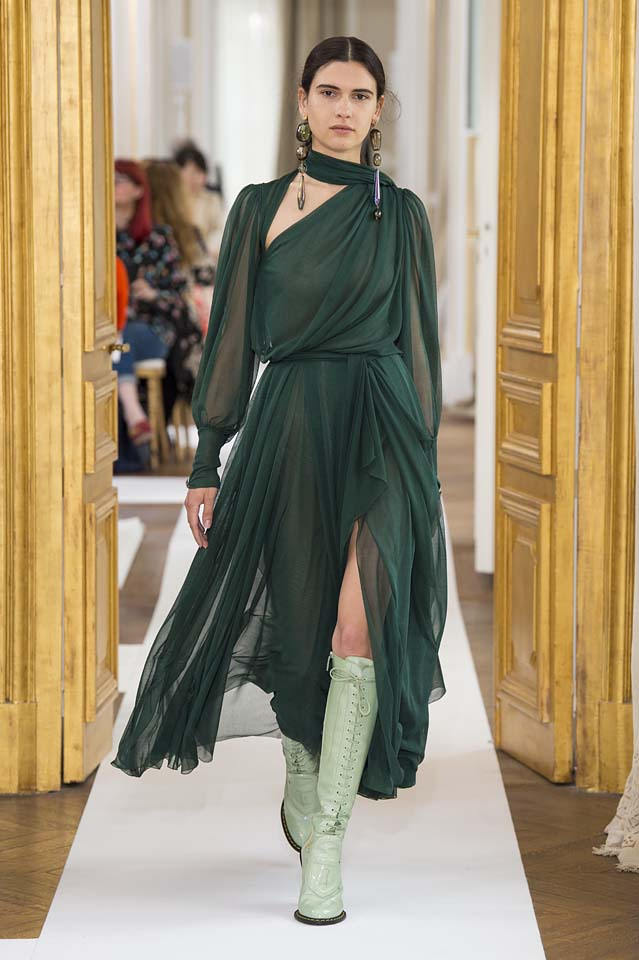 Schiaparelli-fall-winter-2017-fw17-couture (14)-green-slit-dress