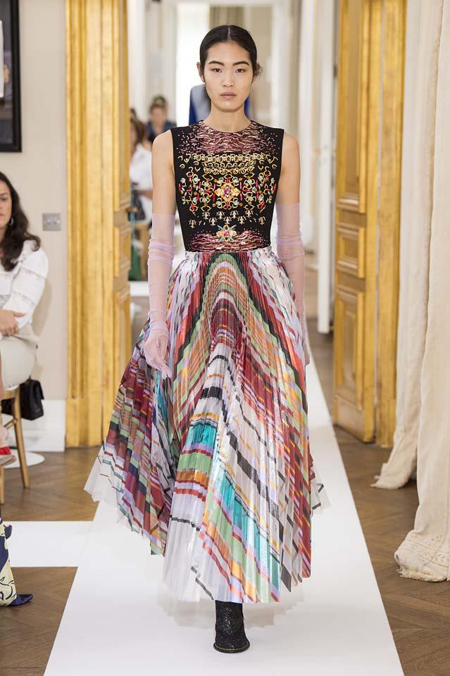 Schiaparelli-fall-winter-2017-fw17-couture (20)-multicolor-dress