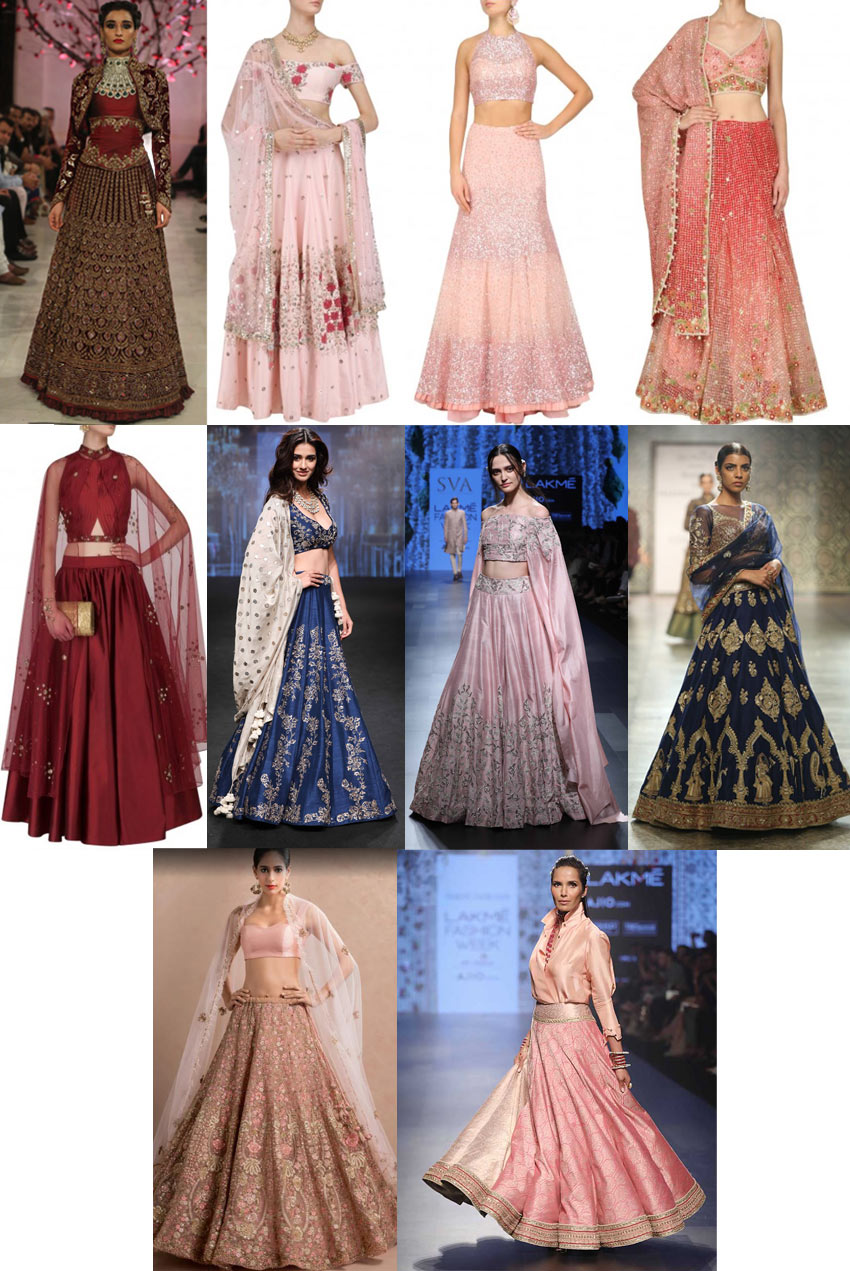 best-indian-designer-engagement-dresses-Lehengas-bridal-fw17-18
