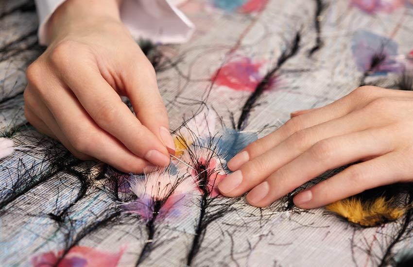 fendi fashion-fendi-fall-winter-fabric-making-magic