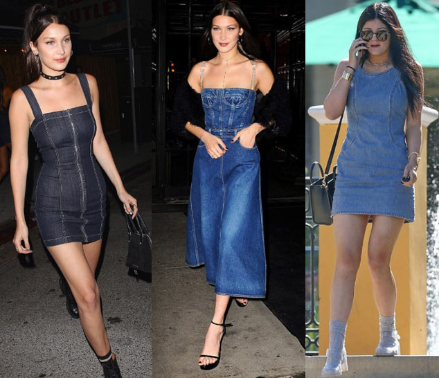 how-to-style-a-denim-dress-ideas-guide-how-to-denim-dresses-fashion-fall-2017
