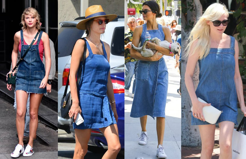 how-to-wear-denim-dresses-for-a-casual-day-out-denim-wear-ideas-fashion-shopping-fall-2017