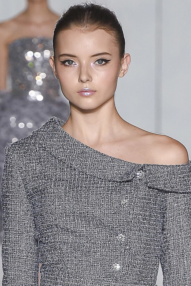 ralph-russo-dewy-skin-makeup-winged-eyeliner-shimmery-lip-gloss