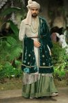 Anju-Modi-icw-17-india-couture-week-collection-dress-3-emerald-green-sherwani