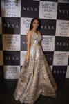 Kiara Advani-gown-silver-amit-aggarwal-frow-lfw-2017