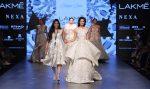 Shriya-Som-Lakme-Fashion-Week-Winter-Festive-2017 (3)-layered-white-diana-penty