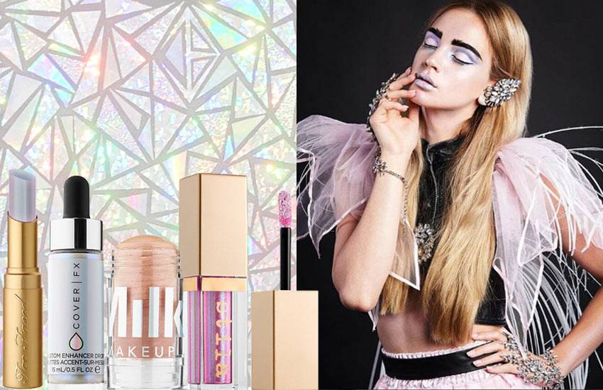 best-Holographic-Makeup-glitter-palette-highlighter-lip-gloss-holographic-stick-fall-2017