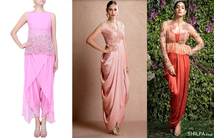 Indo Western Engagement Dresses We\'re Loving | 8 Latest Trends!