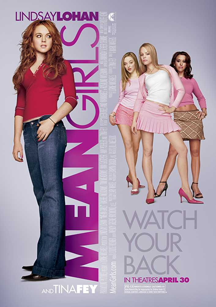 popular-chick-flick-movies-girls-night-in-mean-girls-lindsay-lohan