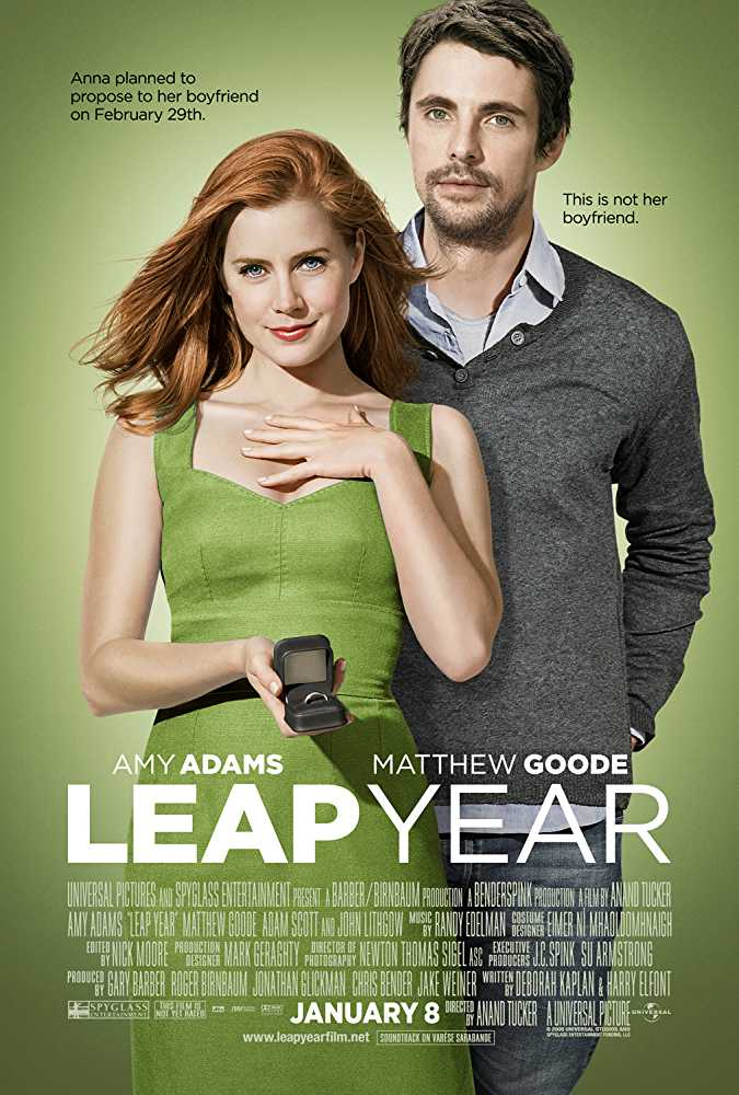 top-funny-romantic-sleepover-movie-leap-year-amy-adams-matthew-goode