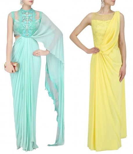 uniquely-Draped-pallu-pre-draped-saree-designs-