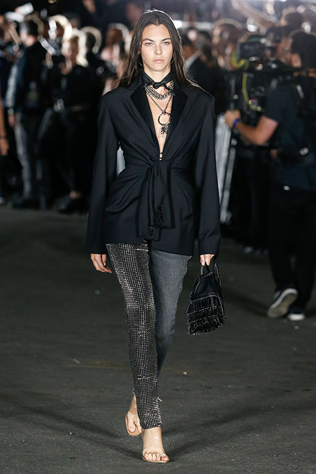 Designer-Alexander-wang-spring-summer-2018-collections-SS18-rtw- (24)-two-textured-pants