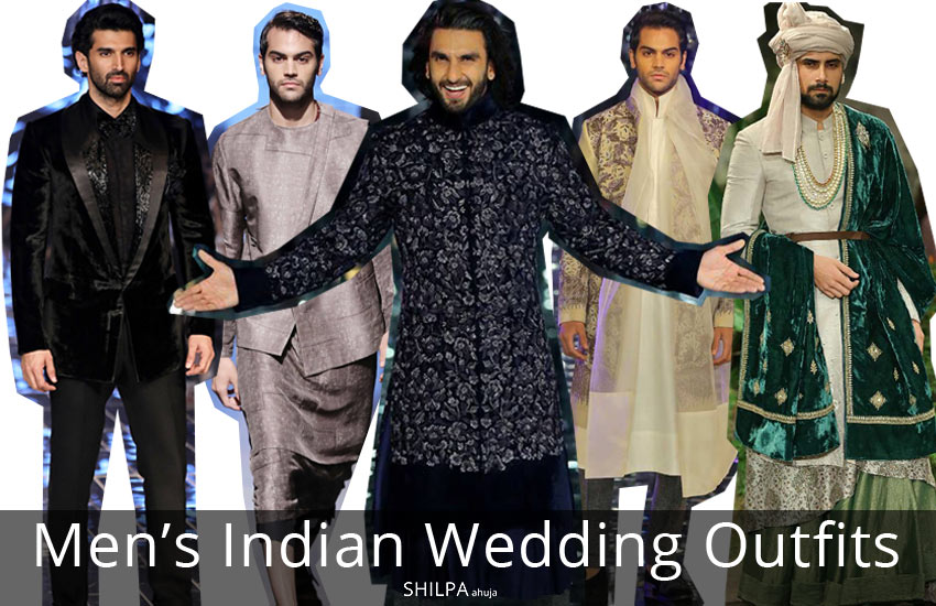 Men's Indian Wedding Outfits -designs-trends-style-fashion-winter-2017-2018