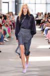 Tibi-Spring-Summer-2018-SS18-outfit (20)-asymmetric-denim-skirt