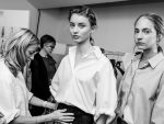 Tods-spring-summer-2018-SS18-collections-rtw-dresses (2)-backstage-scenes-white-shirt-skirt