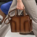 Tods-spring-summer-2018-SS18-collection-rtw (34)-dark-brown-structured-bag