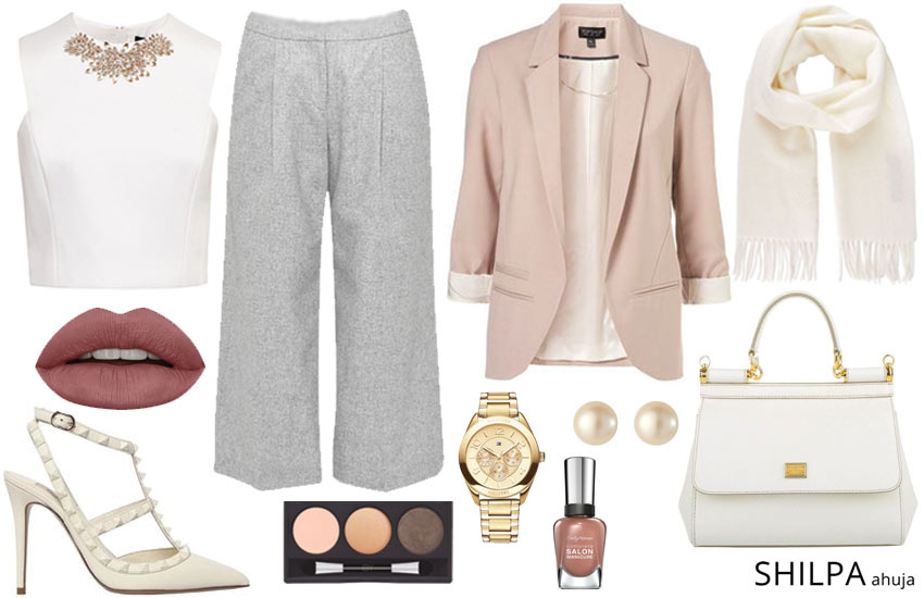 best-casual-friday-attire-style-guide-fall-winter-2017-culottes-blazer-look