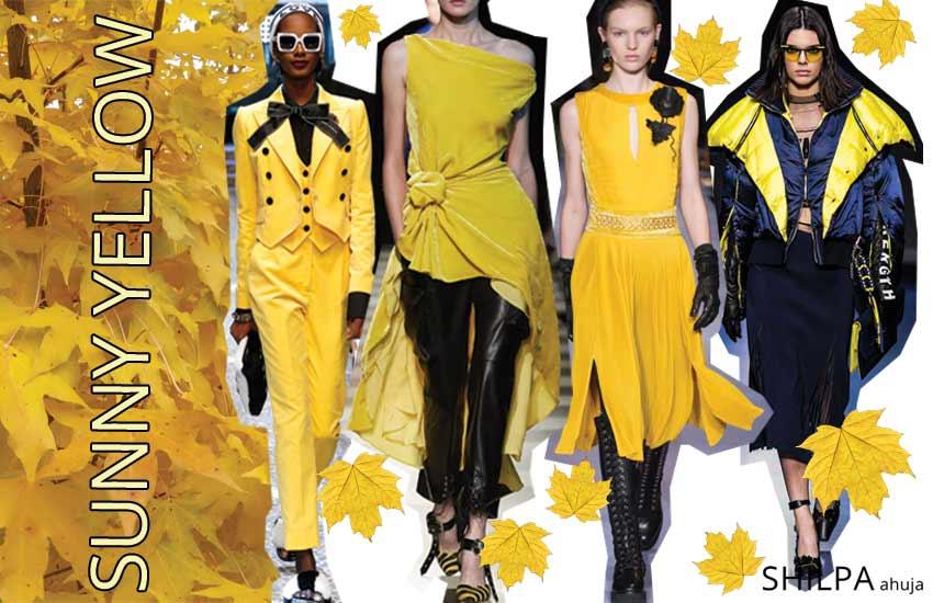 bright-color-trend-fall-winter-2017-2018-sunny-yellow-lemon-yellow-sunflower