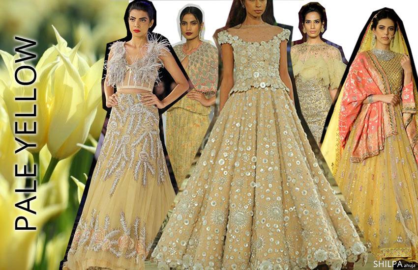 color-trends-lehenga-choli-color-combination-designs-Indian-designer-Pale-yellow