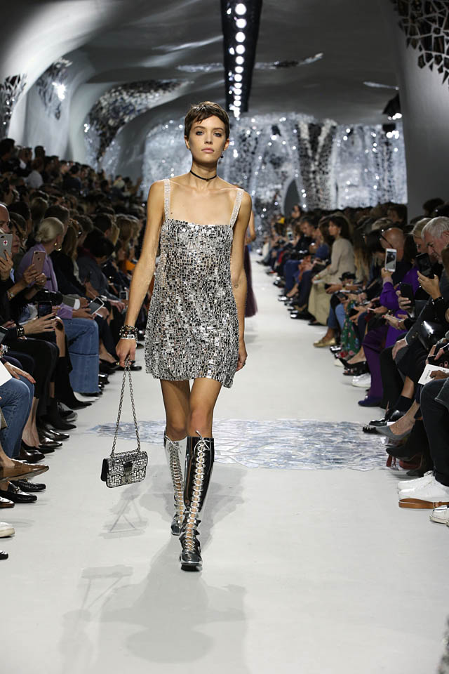 dior-spring-summer-2018-collection-ss18 (11)-silver-strappy-mini-dress