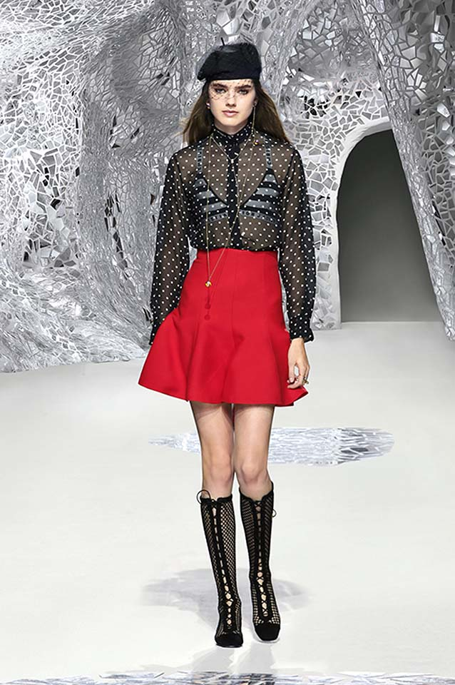 dior-spring-summer-2018-ss18-rtw-collection (30)-pencil-mini-skirt