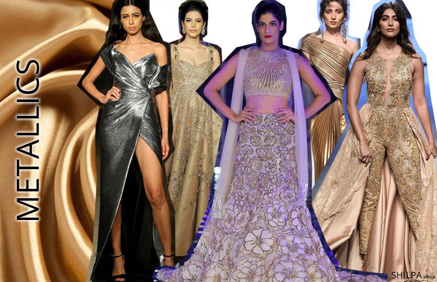 fashion-color-trends-lehenga-designs-Metallics-fall-winter-2017-18