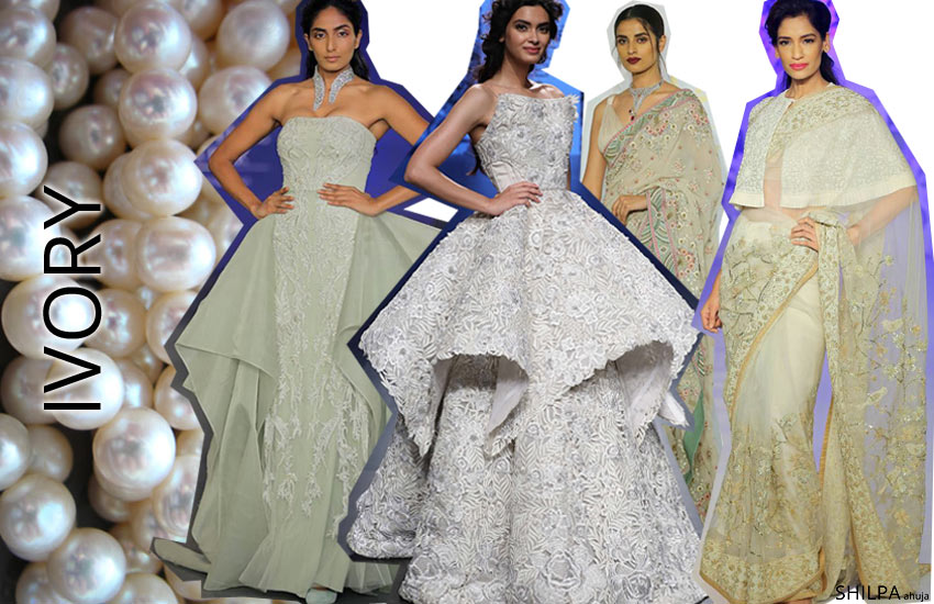 latest-lehenga-designs-and-color-trends-Ivory-capes-sarees-fall-2017-18