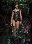 moschino-spring-summer-2018-ss18-rtw-collection (12)-leather-swimsuit