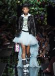 moschino-spring-summer-2018-ss18-rtw-collection (7)-high-low-skirt