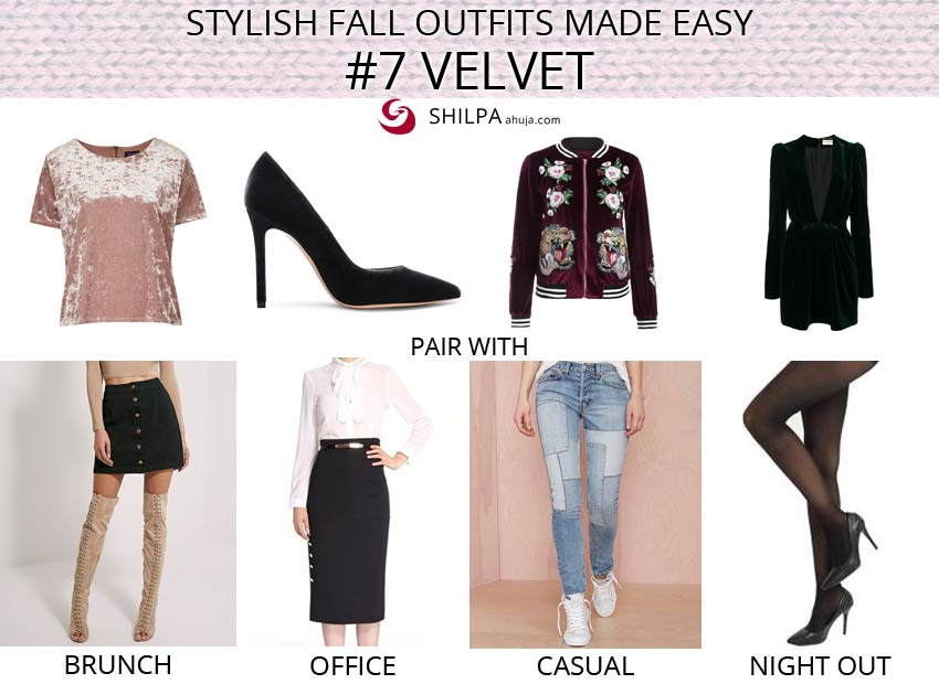 top-popular-velvet-fashion-trend-how-to-wear-outfit-ideas-fall-fashion-guide