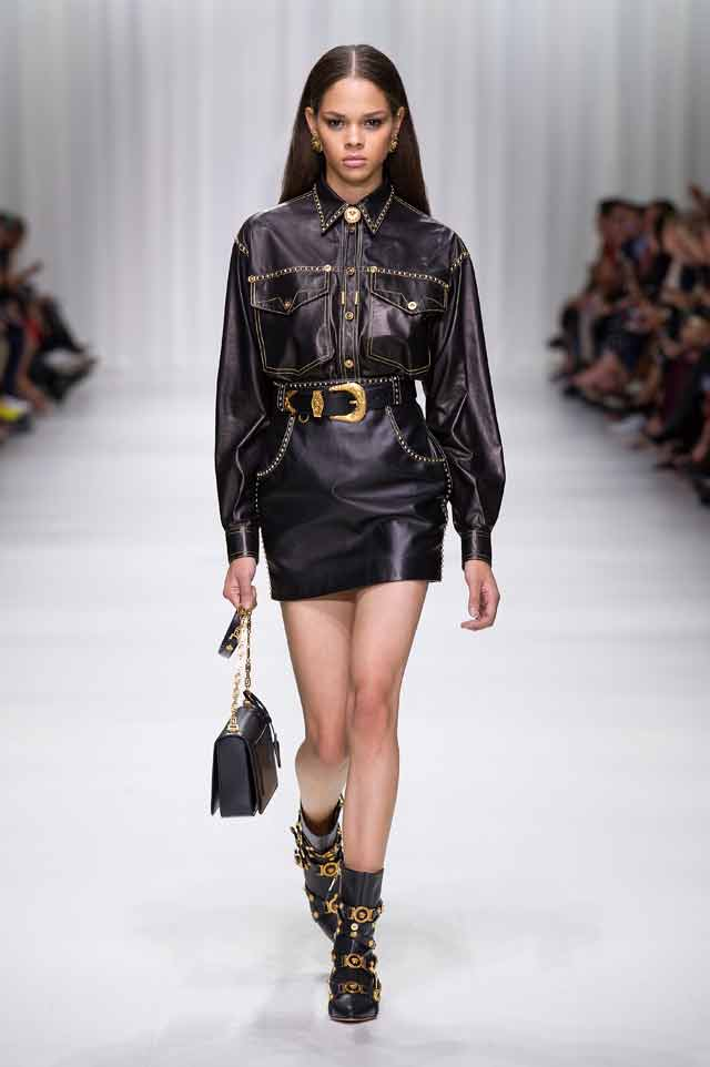 versace-spring-summer-2018-ss18-rtw (9)-leather-outfit