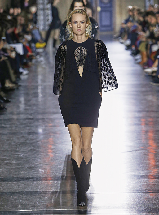 Givenchy-spring-summer-2018-SS18-collection-rtw-dresses (54)-sheer-loose-sleeves