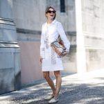 best-fashion-week-street-style-looks (15)-tory-burch-white-shift-dress