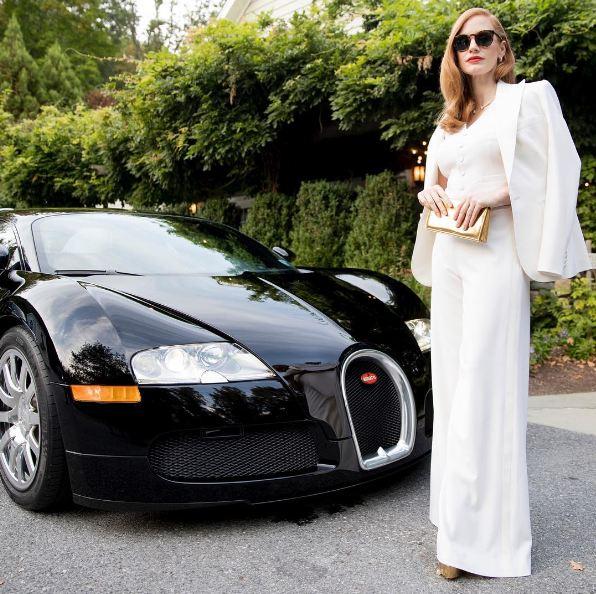 best fashion week street style looks (17)-jessica-chastain-ralph-lauren