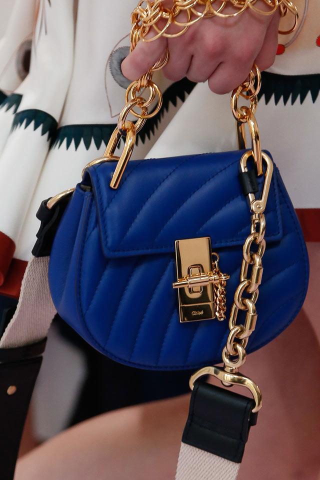 Chloe Spring Summer 2018 Latest Handbag Trends Blue