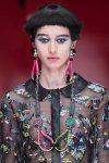 designer-giorgio-armani-SS18-spring-summer-2018-collection-metallic-eyeshadow-nude-lips