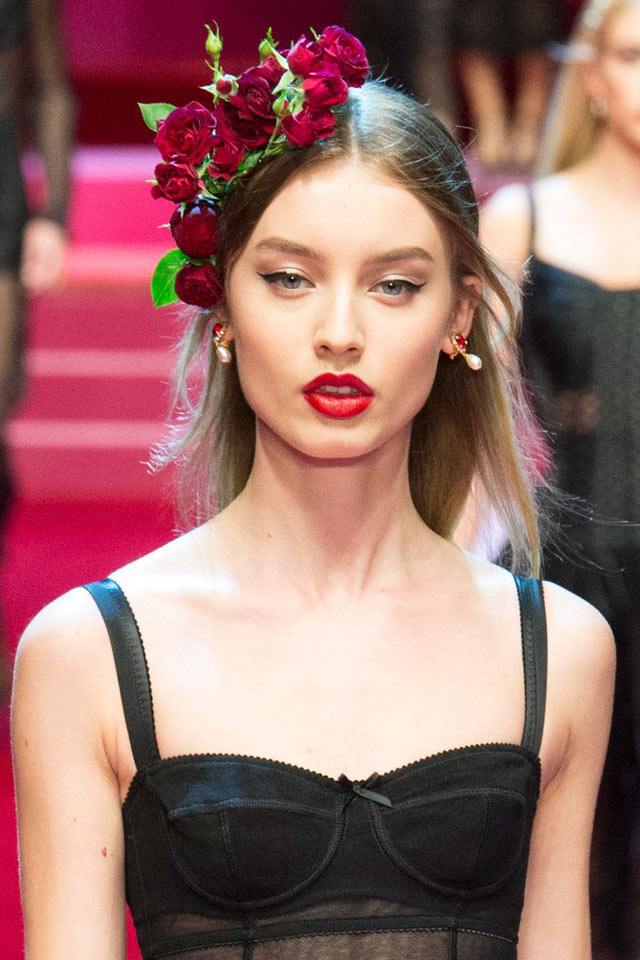 dolce-and-gabbana-spring-summer-2018-ss18-rtw-1-black-sheer-dress-red-lips-beauty-trend-analysis-(2)