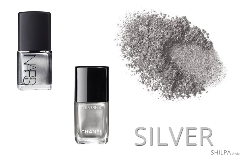 fall-nail-polish-color-trends-metallic-silver-nail-polish