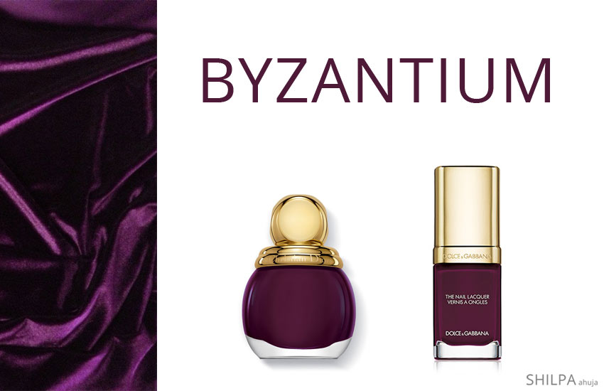 fashionable-nail-colors-fall-winter-2017-2018-berry-tones-purple-byzantium