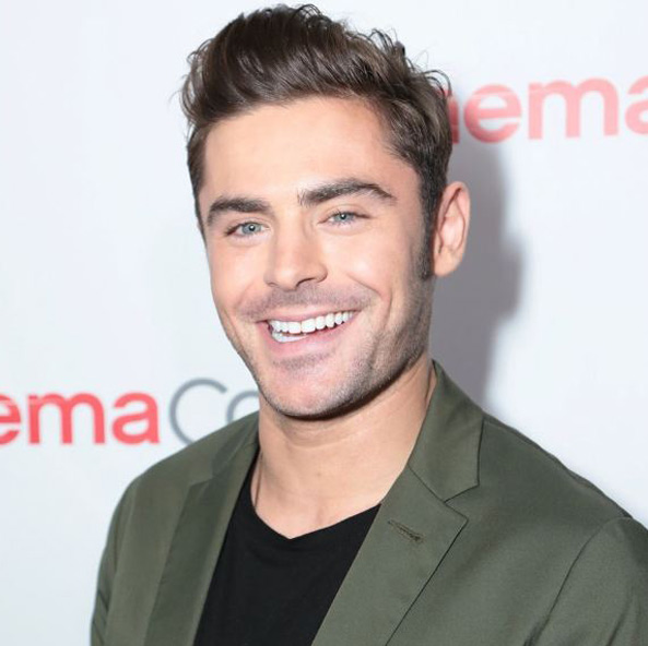 latest men's grooming trends faux-hawk-stubble-zac-efron