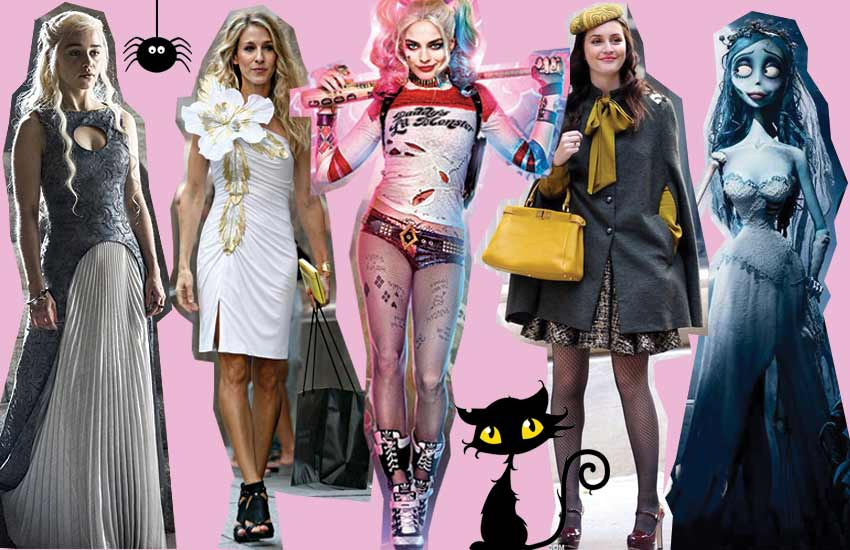 pop-culture-halloween-costumes-icons-khaleesi-harley-quinn-blair-waldorf