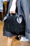 simone-rocha-latest-handbag-trends-2017-shimmery-black-bag