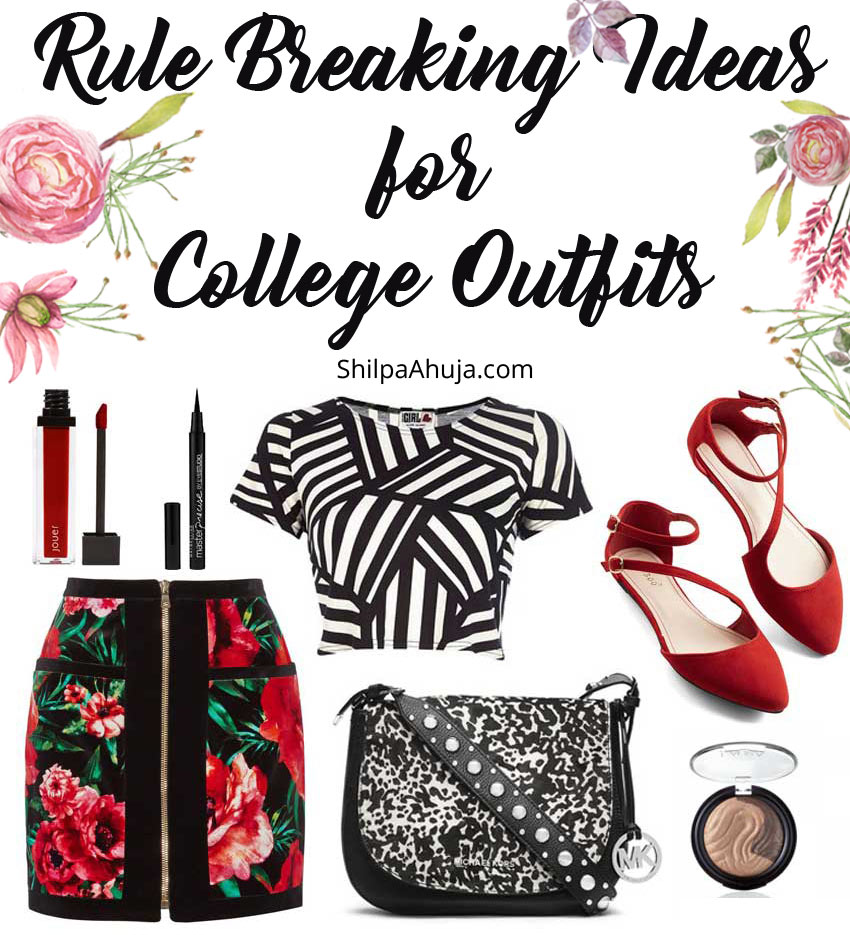 13c rule breaking outfits for college
