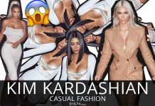Kim Kardashian Casual Fashion -latest-instagram-street-style-looks-2017-fashion