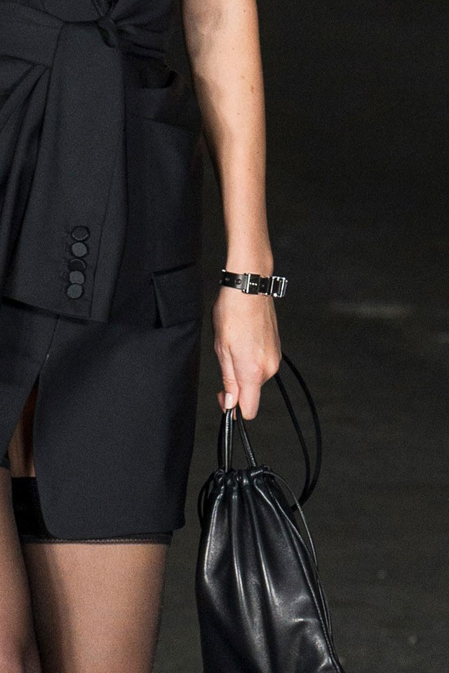 alexander-wang-accessories-2018-spring-summer-leather-bracelet-jewelry-trend-analysis
