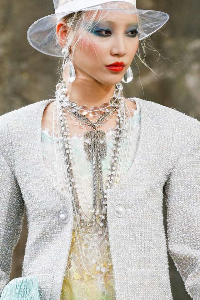 chanel-slubanalytics-ss18-latestchoker-necklace-matching-earrings