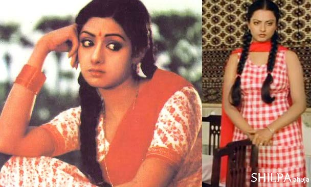 double-braid-early-80s-fashion-sri-devi-rekha-bollywood-fashion