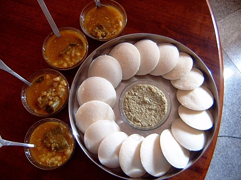 idli-sambhar-coconut-chutney-south-indian-delicacies