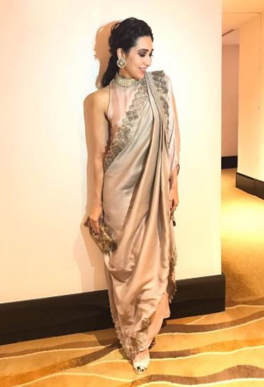karisma-kapoor-instagram-party-looks-saree-indo-western