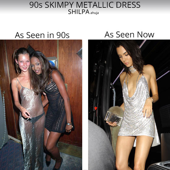 90S-skimpy-metallic-dress-latest-1990-trends-womens-style-retro